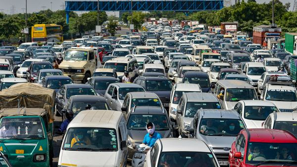 Fitment of HSRP and stickers at dealer points across the city and home delivery in some selected areas resumed on November 1. (File photo used for representational purpose) (PTI)