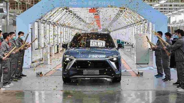 File photo of a new NIO ES8 (Photo courtesy: Twitter/@NIOGlobal)