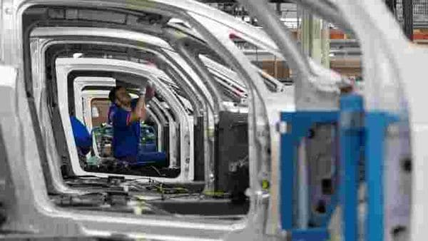 File photo of a factory worker at a car assembly plant. (REUTERS)