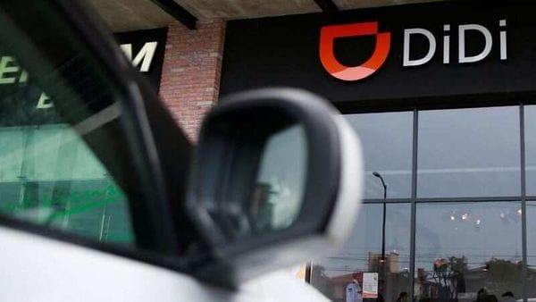 File photo of the logo of Chinese ride-hailing firm Didi Chuxing (REUTERS)