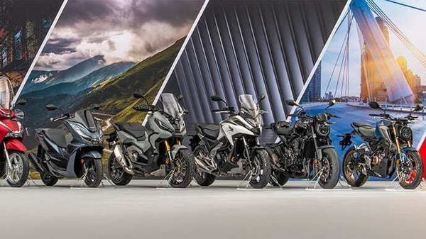 Honda has announced its new lineup of two-wheelers for the European market.