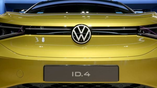 File photo of a new Volkswagen AG ID.4 electric automobile. (Bloomberg)