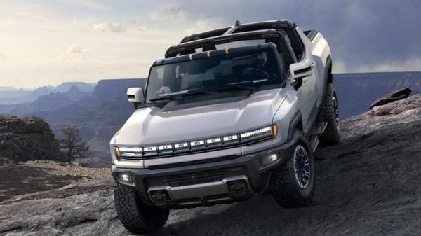 GMC has taken the covers off 2022 Hummer EV.