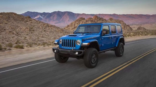 2021 Jeep Wrangler Rubicon 392 is the most powerful in the Wrangler lineup so far with the addition of a V8 engine.