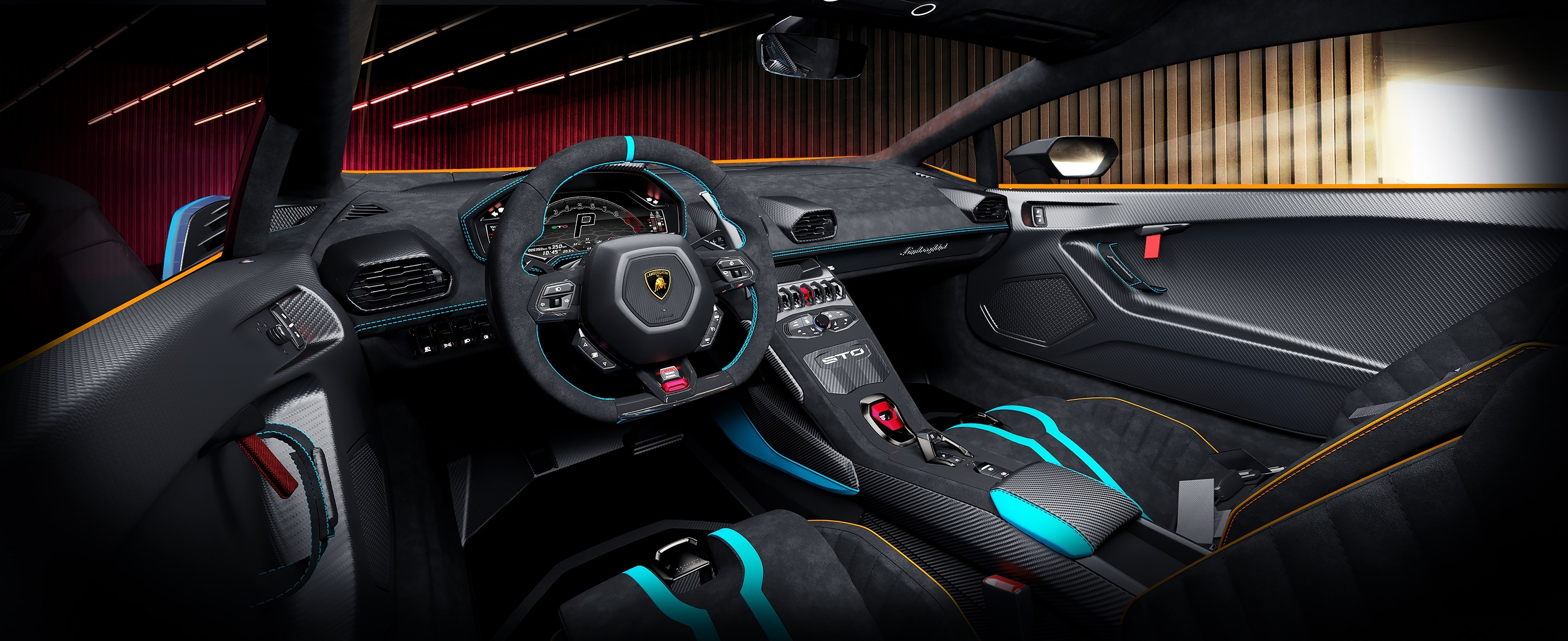 Carbon fibre materials feature inside as well with the seats, floor mats (instead of carpets) and door panel made of it. The car will have a New Human Machine Interface (HMI) graphics feature on the touch screen inside and it is this that is the brain that controls almost every aspect including drive mode indicator, the LDVI system, tire pressures and brake temperatures.