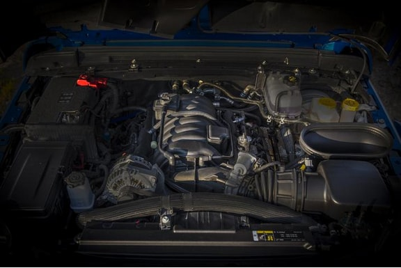 The Rubicon 392 gets a 6.4-litre naturally aspirated V8 engine which has increased power of 470 horses and a 637 Nm torque. The engine is mated to an eight-speed automatic transmission with paddle shifters - a first for the Wrangler. Jeep claims those numbers are enough to take the Wrangler from 0-100 kmph in 4.5 seconds.