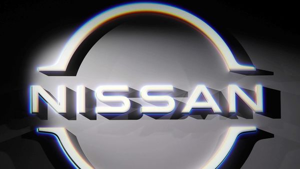 FILE PHOTO: The brand logo of Nissan Motor (REUTERS)