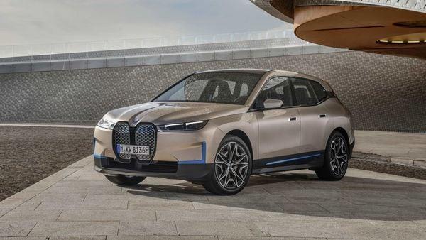 Photo of BMW's latest electric car BMW iX. (AP)
