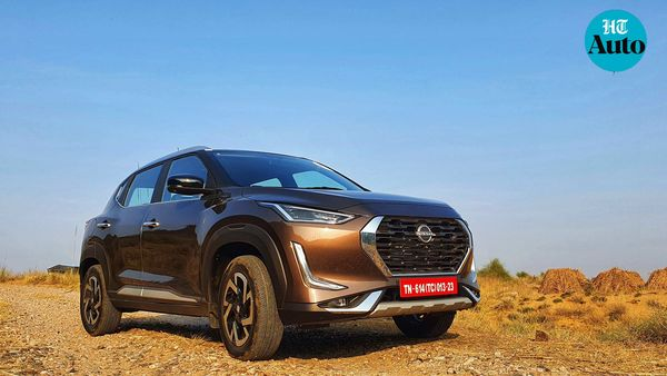 Nissan Magnite is all set to be the latest entrant in the closely-fought sub-compact SUV segment. (HT Auto/Sabyasachi Dasgupta)