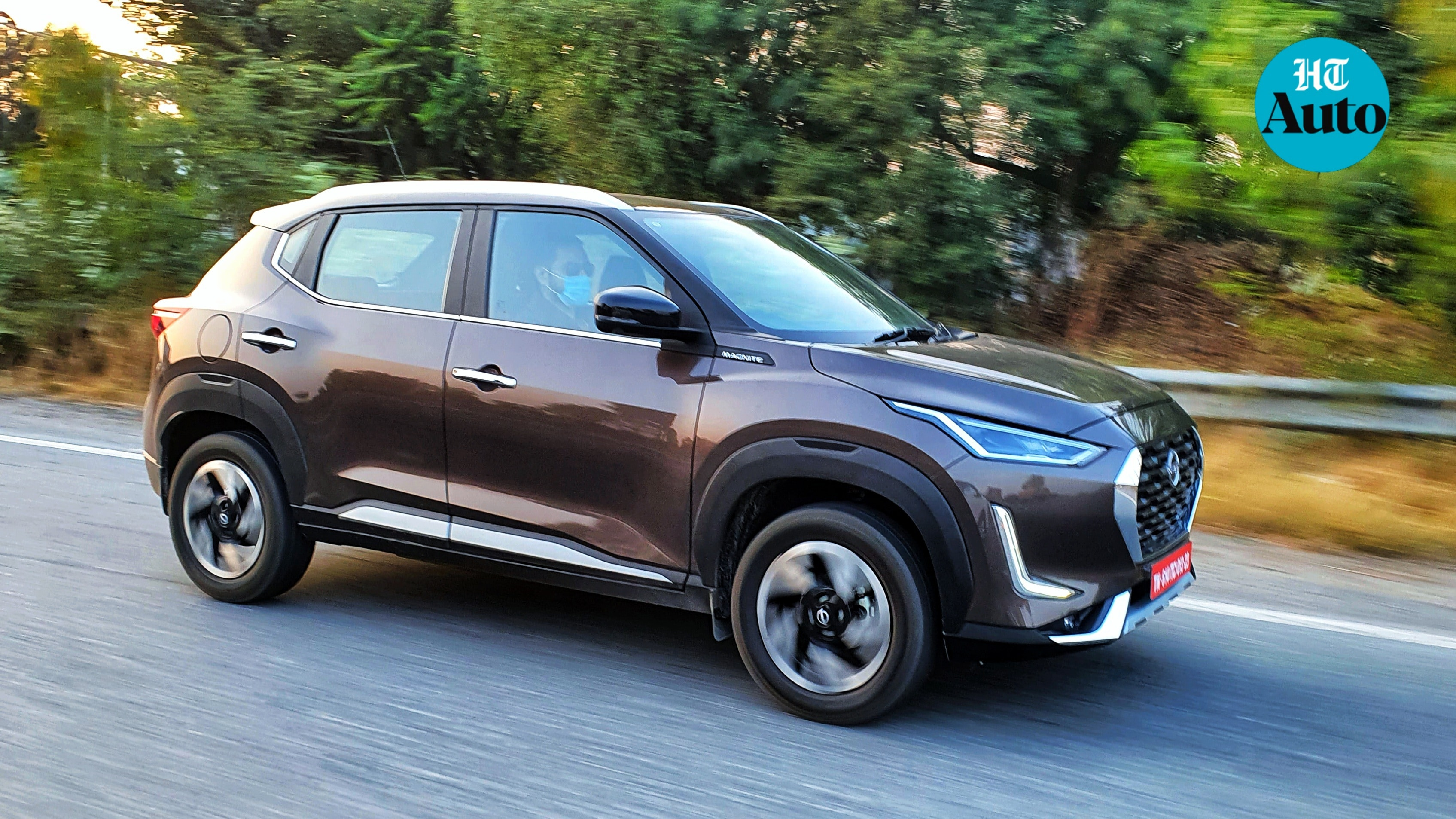 Turbo engine: While Magnite will come in a naturally-aspirated 1.0-litre petrol engine, it is the 1.0-litre HRA0 turbo engine that is to watch out for. It produces 100 Ps and offers 160 Nm of torque. (HT Auto/Sabyasachi Dasgupta)