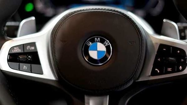 File photo of a BMW logo. (Image used for representational purpose) (REUTERS)