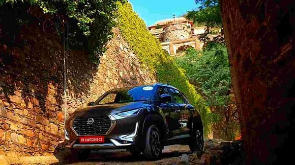 Nissan Magnite is the next big-ticket sub-compact SUV waiting in the wings for an India launch. Nissan is looking at Magnite for a redemption of sorts after years of rather pale performance. Here are five highlights of Magnite to watch out for. (HT Auto/Sabyasachi Dasgupta)