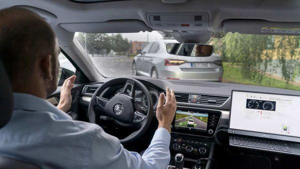 Skoda' self-driving technology testing
