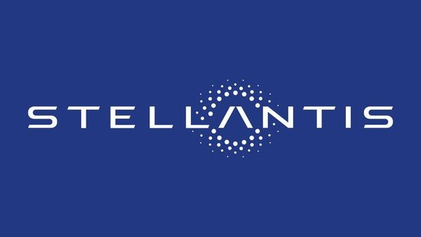 The logo of Stellantis (via REUTERS)