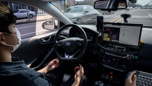 File photo of a self-driving car used for representational purpose (AFP)
