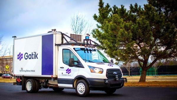 Silicon Valley startup Gatik's self-driving delivery van (Photo courtesy: Gatik)