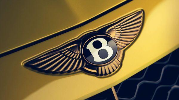 File photo of Bentley logo