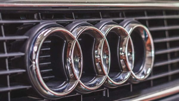 File photo of Audi logo
