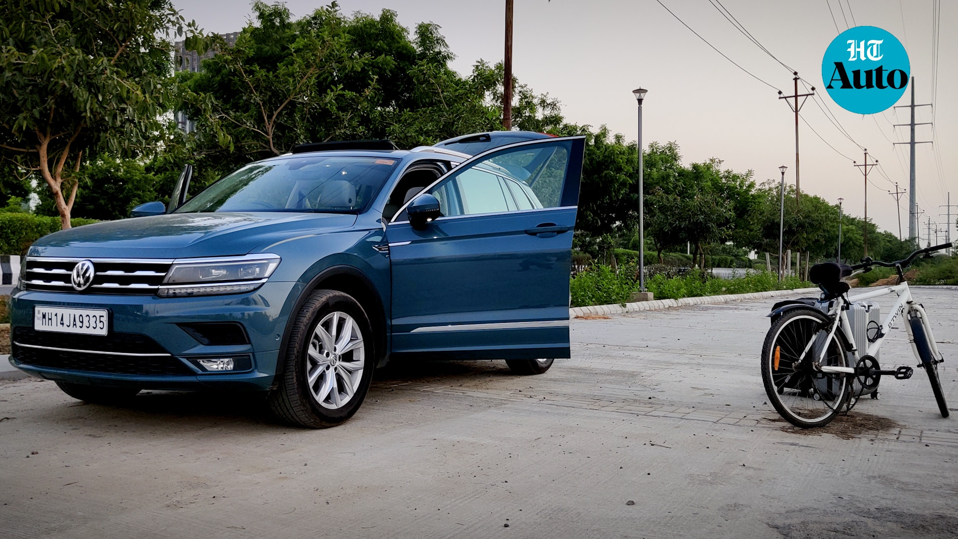 No inch has been spared in terms of safety by the German car makers. The Tiguan AllSpace comes with seven airbags, front and rear parking sensors, Tyre Pressure Monitoring System, Electronic Stabilisation Program (ESP) and Park Assist.