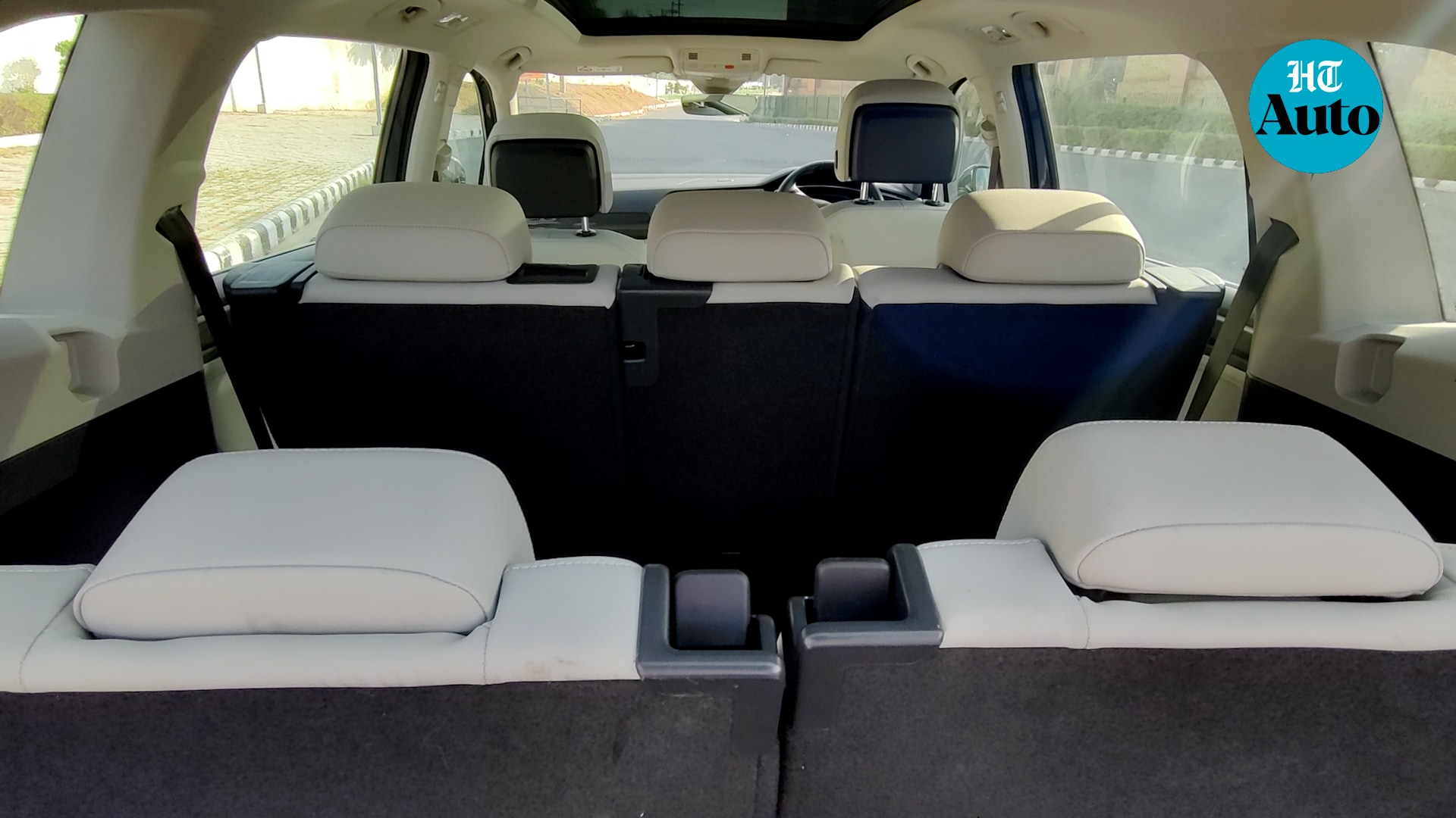 The Tiguan AllSpace boasts of three rows of seats, the most obvious difference from the earlier Tiguan. Seats in the front two rows have been elegantly crafted to ensure maximum comfort but the last row is hopelessly cramped for an adult. However, Volkswagen has gotten around the main complaint with the earlier Tiguan, lack of space.