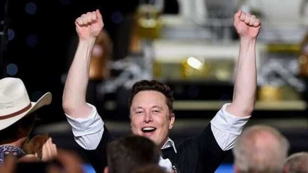 Elon Musk's Tesla blew past $500 billion in market value in the run-up to its debut in the S&P 500. (REUTERS)