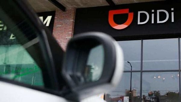 File photo of the logo of Chinese ride-hailing firm Didi Chuxing. (REUTERS)
