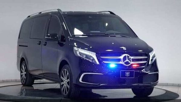 Armored 2021 Mercedes-Benz V-Class by Inkas. (Photo courtesy: Inkas)