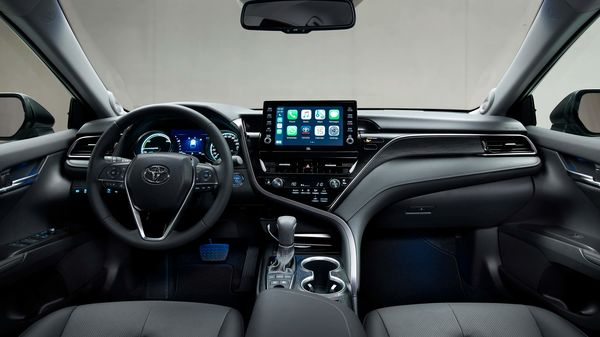 Toyota has added a number of new safety features for the Camry Hybrid like Pre-Collision System, Emergency Steering Assist and Intersection Turn Assistance. The sedan also provides Intelligent Adaptive Cruise Control which works with Road Sign Assist and Lane Trace Assist.