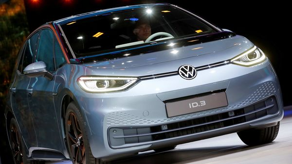 Volkswagen ID.3 electric car (REUTERS)