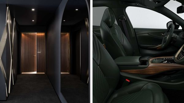 Aston Martin homes and its special-edition DBX SUV share inspirations.