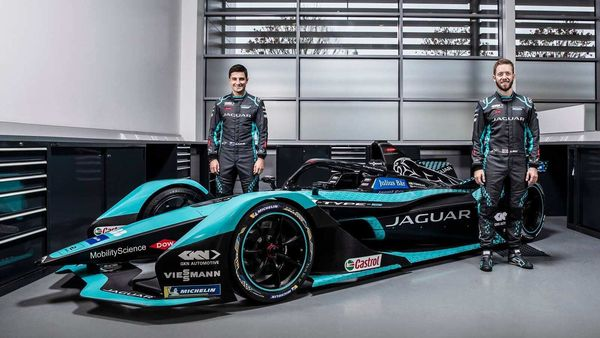 Jaguar's new I-Type 5 race car