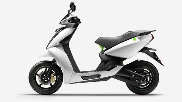 File photo of Ather 450 which was launched in India in 2018..