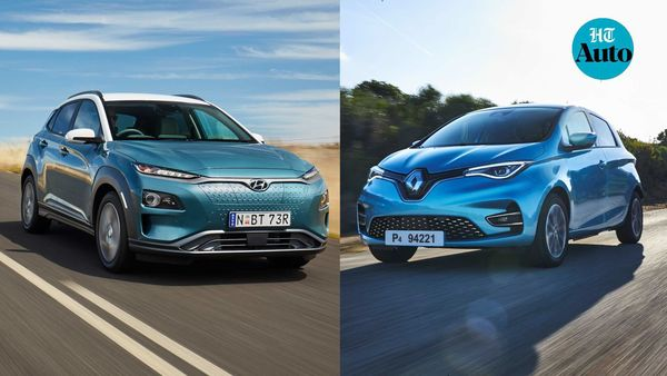 Hyundai Kona (left) and Renault Zoe (right) electric cars emerged as the cleanest EVs during a test conducted by Green NCAP.