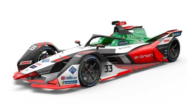 Audi e-tron FE07 race car