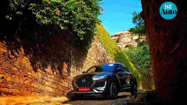 Nissan is betting big on Magnite to find favour among buyers in the sub-compact SUV segment. (HT Auto/Sabyasachi Dasgupta)
