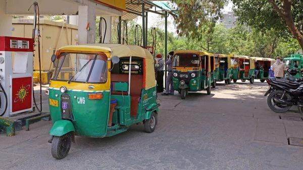 File photo of autorickshaws in New Delhi
