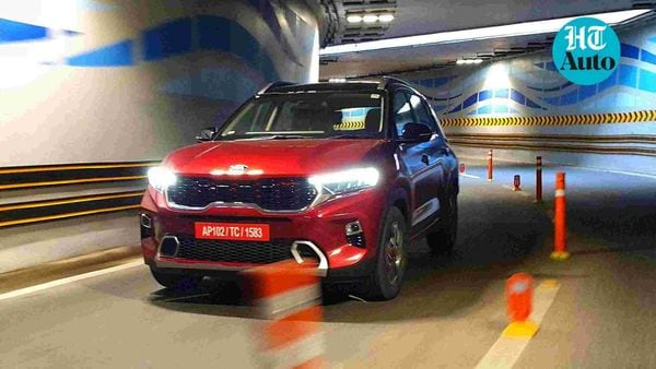 Kia Sonet has taken over from Seltos as the company's most successful offering in India. (HT Auto photo: Sabyasachi Dasgupta)