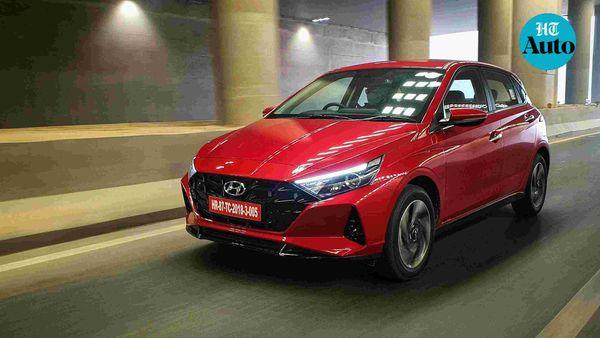 Hyundai i20 2020 was launched on November 4 at a starting price of ₹6.79 lakh. (HT Photo/Sabyasachi Dasgupta)