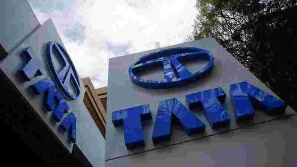 Tata Motors logos are seen at their flagship showroom in Mumbai February 14, 2013. (File Photo) (REUTERS)