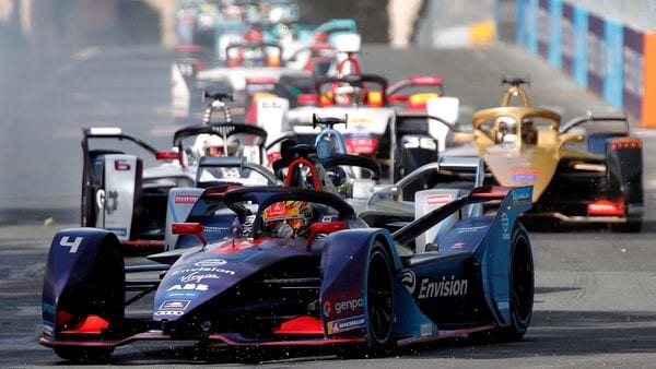 File photo - A Formula E race underway in Paris in April of 2019. (REUTERS)