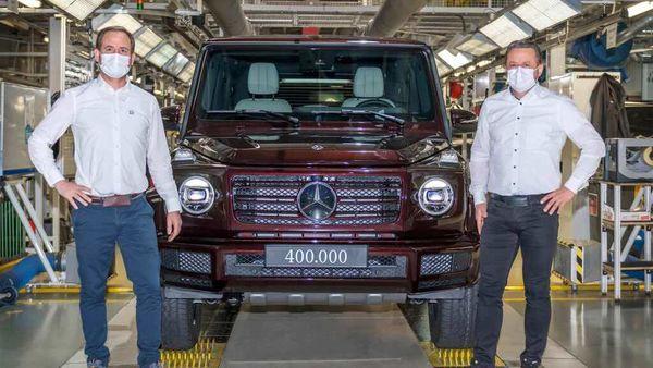 The 400,000th Mercedes-Benz G-Class