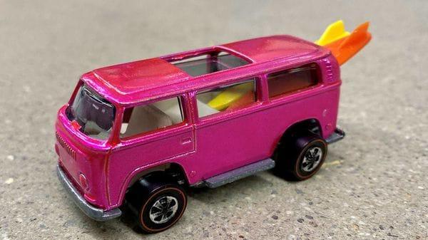 Volkswagen Beach Bomb Hot Wheels model