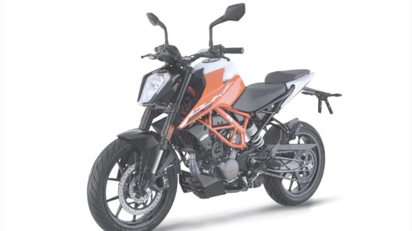 KTM has launched 125 Duke in India at a price of ₹1.50 lakh.