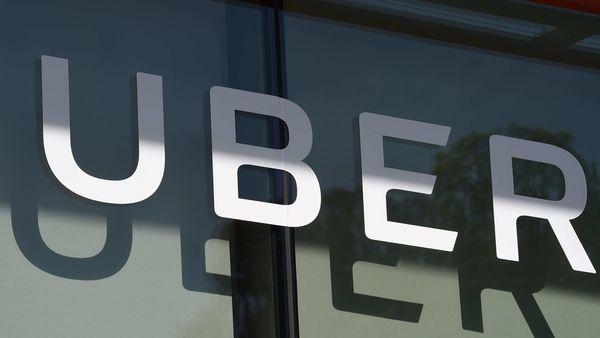 File photo of Uber logo (AFP)