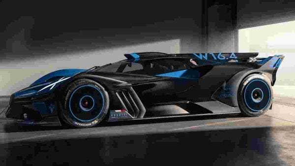 Bugatti Bolide gets hollow, thin-walled functional components made of an aerospace titanium alloy.