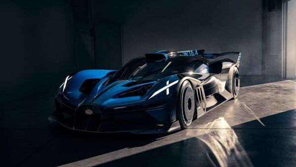 Bugatti says Bolide is one its most extreme hypercars.
