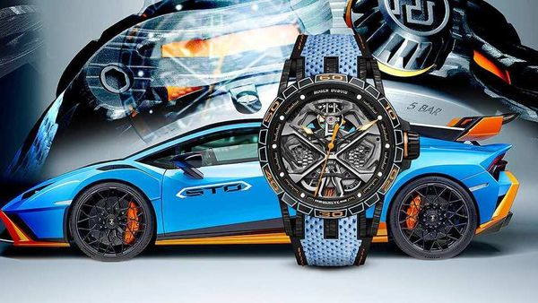 The Excalibur Spider Huracan STO watch is limited to only 88 units worldwide.