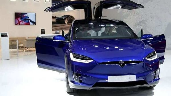FILE PHOTO: A Tesla Model X electric car is seen at Brussels Motor Show, Belgium, January 9, 2020. REUTERS/Francois Lenoir (REUTERS)