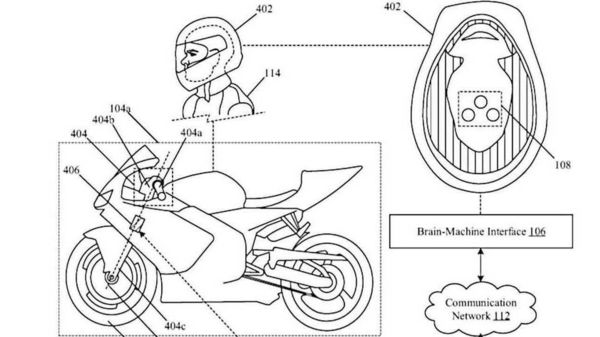 The motorcycle will come with a hyper advance helmet with inbuilt neural sensors picking up the rider's stream of thoughts.