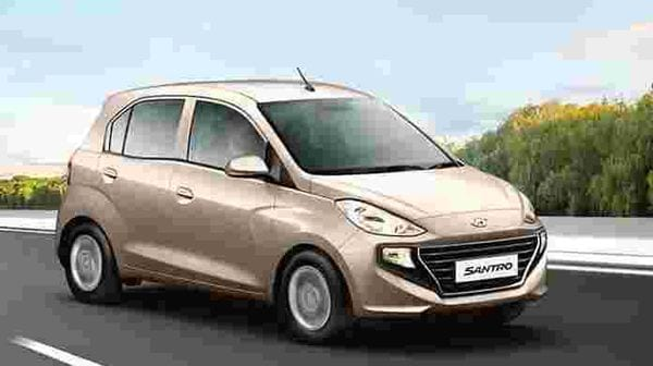 Hyundai Santro is available with benefits up to ₹50,000.